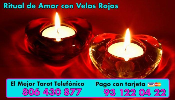 Ritual de Amor con Velas Rojas