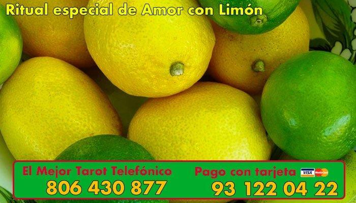 Ritual especial de amor con Limon