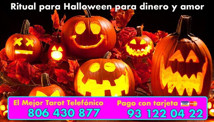 Ritual para Halloween para el dinero y el amor