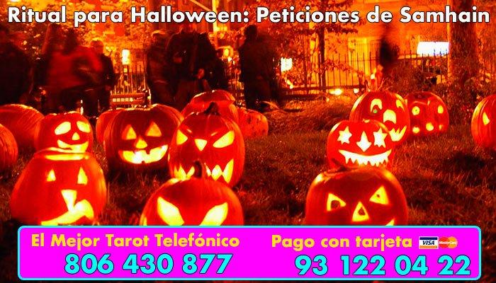 Ritual para Halloween - quema de peticiones de Samhanin