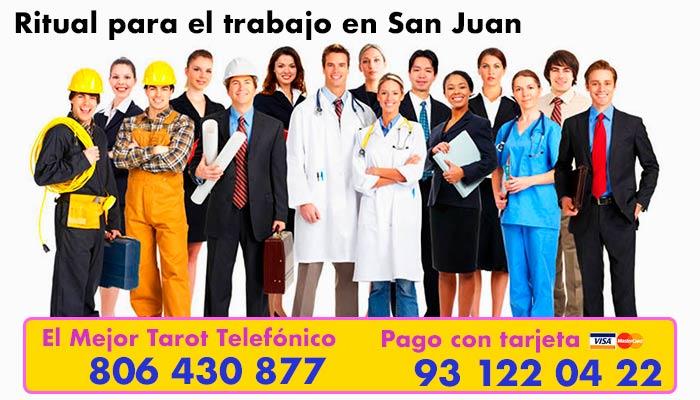 Ritual para el trabajo en San Juan