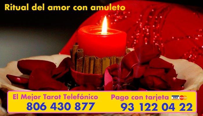 Ritual del amor con amuleto